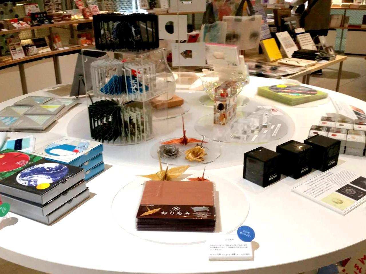 金沢21世紀美術館ミュージアムショップでおりあみの販売開始
